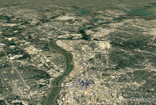 DFW Area Aerial