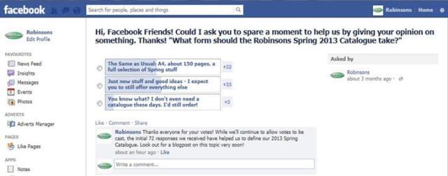 FB Poll Screenshot