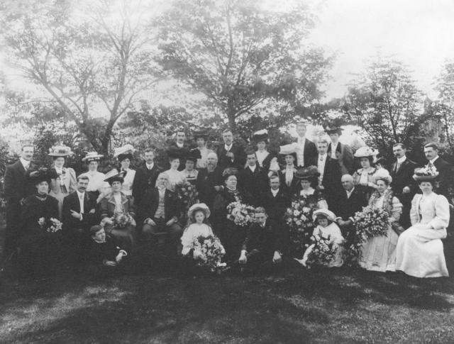 Bentham Latham wedding 1907