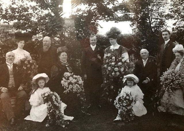 Wedding of Ernest and Margaret
